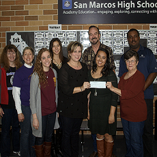 SMPAA donates to help students with private voice lessons
